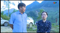 Đồng chí Nguyễn Hữu Đông thăm hỏi động viên nhân dân vùng lũ Phù Yên