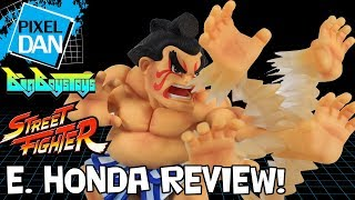 Street Fighter E. Honda TNC-08 BigBoysToys Figure with Display Base Video Review