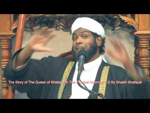 Story of  Queen of Sheba With The Prophet Sulaymān A.S