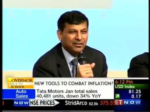 Governor Dr. Raghuram G. Rajan Back to School with Times of India