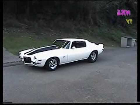 1971 Camaro Twin Turbo 372 - 10 Second Car - NRE