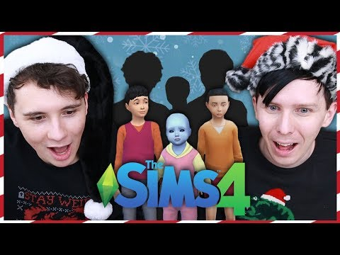THEY GROW UP SO FAST - Dan and Phil Play: Sims 4 #48