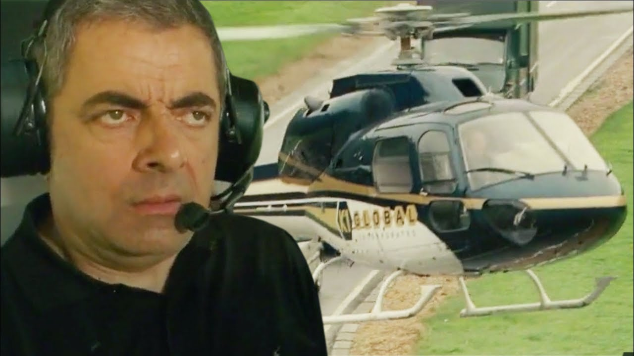 Time to Fly! | Johnny English Reborn | Mr Bean Official