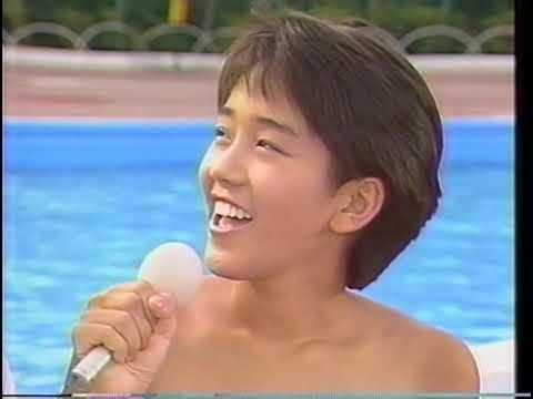 西田ひかる vs 本田理沙 (アイドルどーむ 水泳大会)