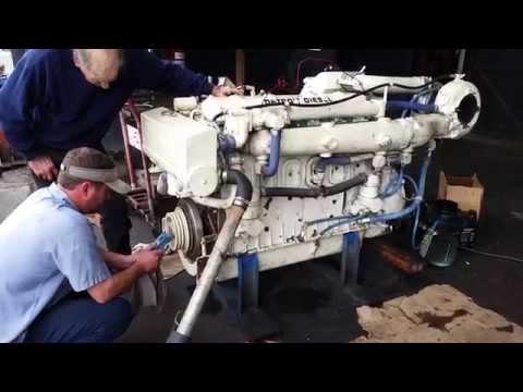 Detroit Diesel 6-71 TIB    485HP  Marine Engine