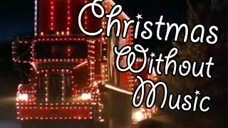 Christmas Commercial Without Music