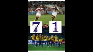 WORLD CUP 2014 BRAZIL VS GERMANY 1-7 - HIGHLIGHTS