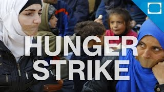 Why Are Syrians Starving Themselves in Greece?