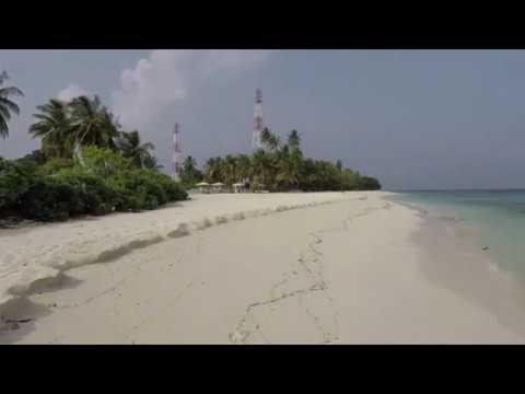Maldives 2017 -  A Long Walk On Dharavandhoo Beach