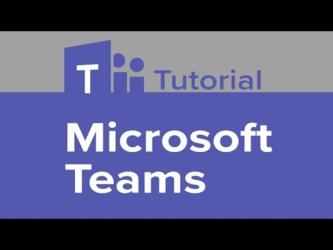 how microsoft teams works video conference
