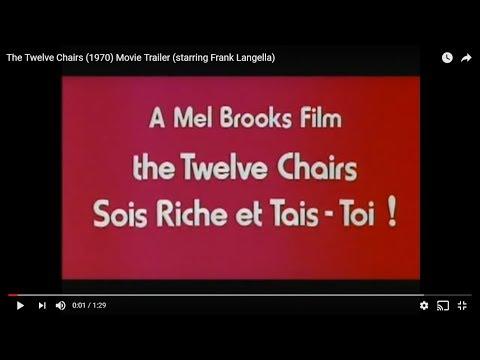 John & I  The Twelve Chairs the forgotten Mel Brooks movie