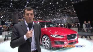 Jaguar XE al Salone di Ginevra 2015