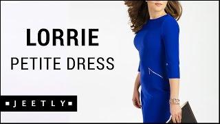 Petite blue dress - Lorrie Shift dress by Jeetly