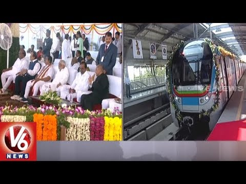 Download Youtube: PM Modi Hyderabad Metro Rail Inauguration Live Updates | Special Report | V6 News