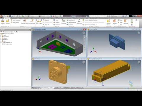 Autodesk Inventor - electrical, vytvoření konektorů (1/3)