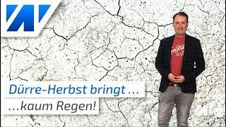 Herbst-Trend: Die Trockenheit geht weiter!