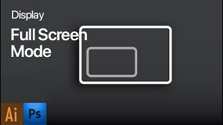 In this video, I'll show you how to display full screen mode and to...