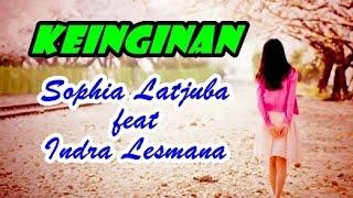 Download Mp3 Sophia Latjuba Feat Indra Lesmana - Keinginan  Video Lagu + Lyric