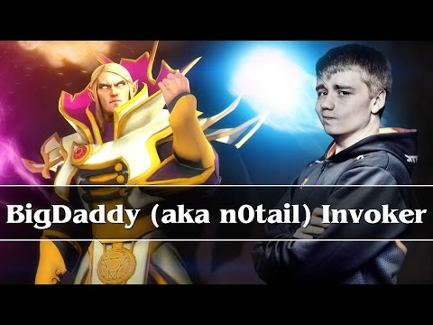 BigDaddy (aka n0tail) plays Invoker - Commentary + Web Cam - public MMR (26.09.2014)