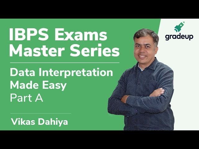 Data Interpretation | Class 1 | Percentage Change in DI | Vikas Dahiya