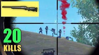 M24 + BERYL OP | SOLO VS SQUAD | PUBG MOBILE