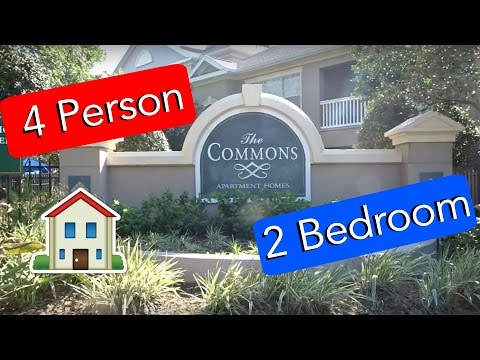 The Commons Apartment Tour! - Disney Housing
