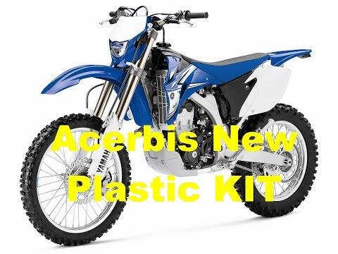 New Acerbis Plastic KIT installation on Dirt Bike