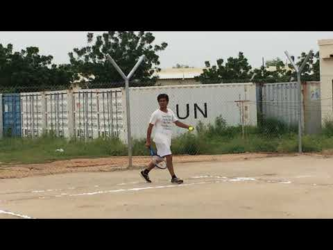 India TENNIS @ Darfur Africa