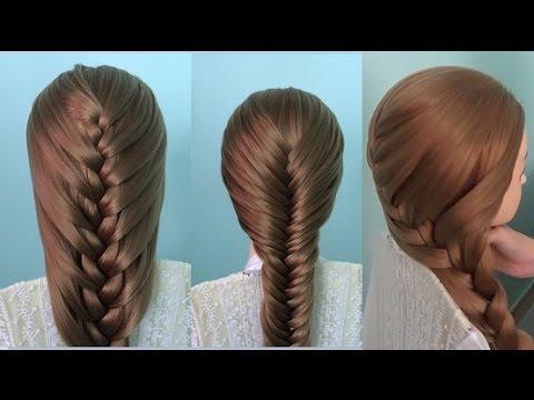 AnaTran – 3 kiểu tết tóc xương cá , đuôi rết, đuôi sam
