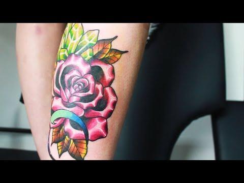 ROSE  - Даня Белый (VeAn tattoo)