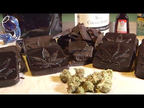 How To Make Marijuana Chocolate With Cannabis Infused Cocoa Butter: Infused Eats #35
