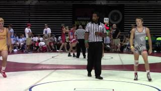 Brent Moore vs. Tim Rooney Grand River Rumble, 155 lbs