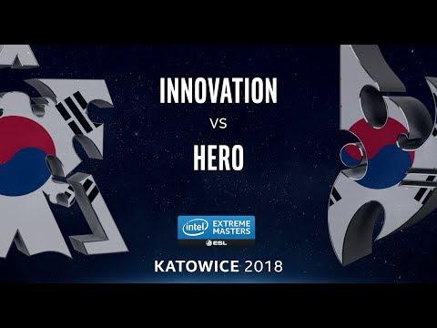 StarCraft 2 - INnoVation vs. herO (TvP) - IEM Katowice 2018 - Korean Qualifier #1