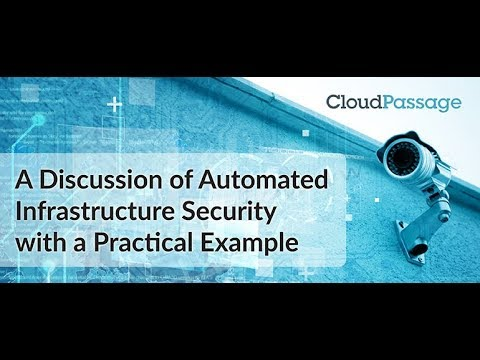 A Discussion of Automated Infrastructure Security with a Practical Example