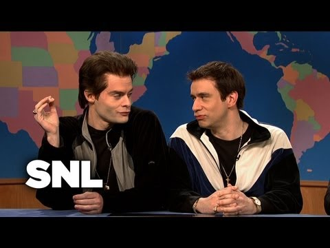 Weekend Update: The Gay Couple From New Jersey On Same-Sex Marriage In Vermont - SNL