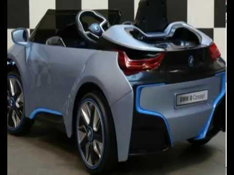 kinderauto kinder elektroauto bmw i8 original lizenziert 12v 90w fernbedienung mp3 youtube. Black Bedroom Furniture Sets. Home Design Ideas