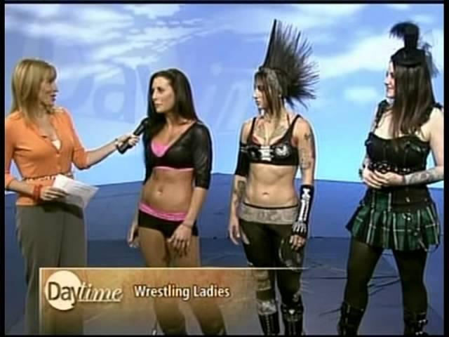 SHINE stars Daffney, Christina Von Eerie & Santana on