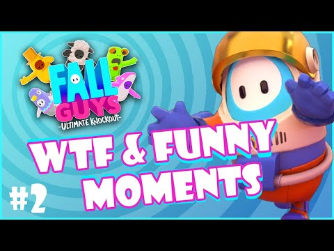 Fall Guys Best Highlights #WTF & #Funny Moments & Best Plays #2 | EasyTV