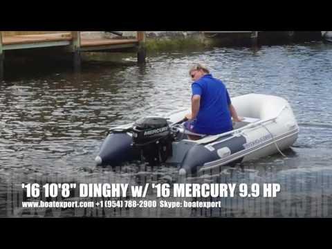 2016 Hydro Force 3.30 Meter Dinghy W 9.9 Mercury Four-stroke