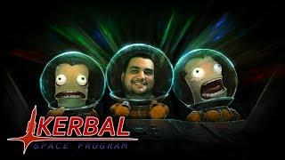 [18+] Шон играет в Kerbal Space Program (PC, 2015)