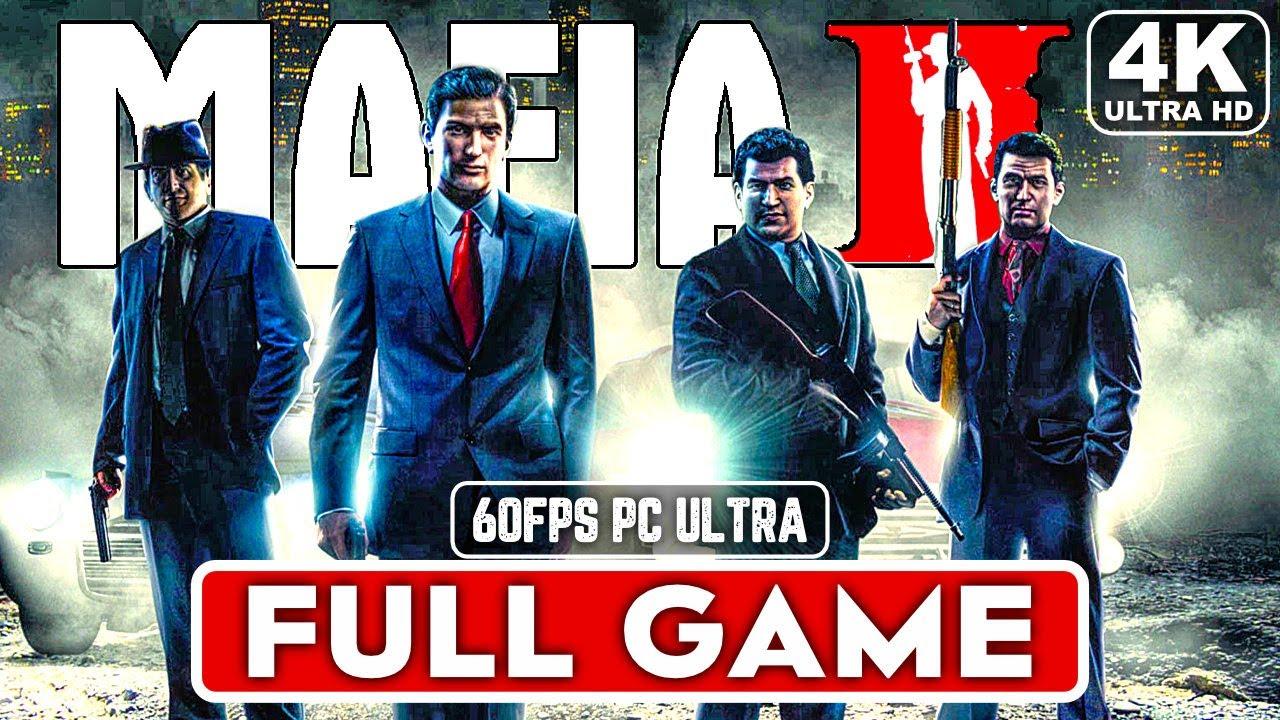 MAFIA 2 Gameplay Walkthrough Part 1 FULL GAME [4K 60FPS PC ULTRA] – No Commentary