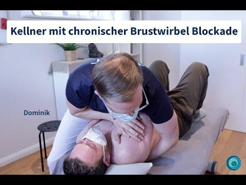 Brustwirbelblockade