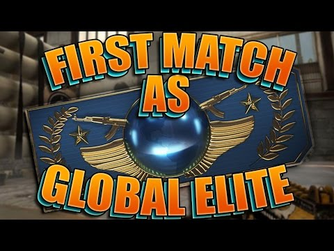 CS GO - E223 First Match As Global Elite