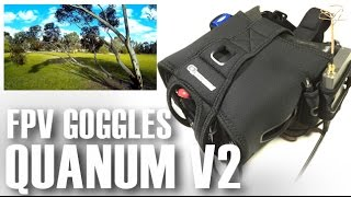 Hobby King Quanum V2 DIY FPV Goggle Flight Review - Part 2