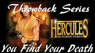 Hercules The Legendary Journeys, The Lost Kingdom Movie You Find Your Death Hera Kills A Runner.