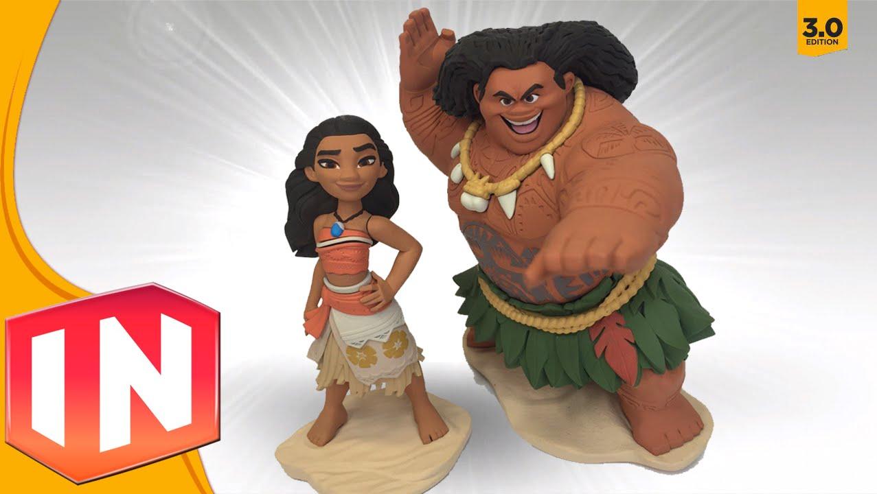 Disney Infinity 3 0 - Moana & Maui Designs Revealed - EXCLUSIVE LOOK