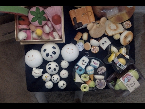 Squishy Collection 2017 : My squishy collection 2016-2017 - YouTube