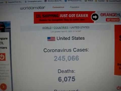 Today Is Over 1000000 One Million People Got Corona Virus корона вирус
