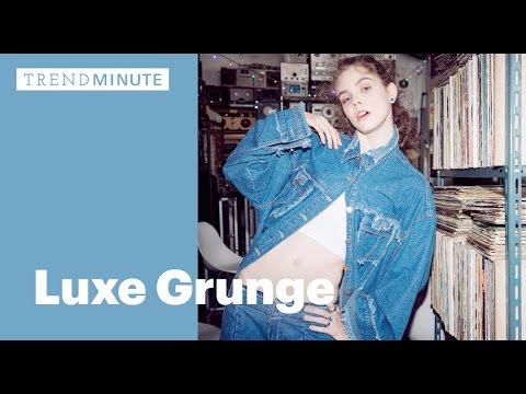 Trend Minute: Luxe Grunge
