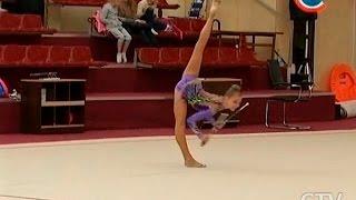 Чемпионат Беларуси по художественной гимнастике: Арина Шарапа выиграла большинство финалов